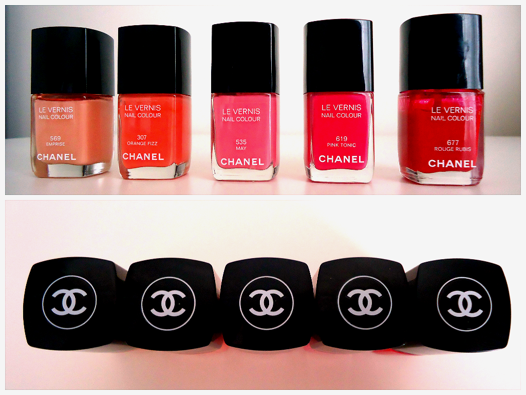 Chanel Nail Polish Review | hannahrosebeautyxo